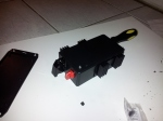 Partiall assembled trap