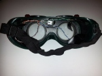 Inside the goggles